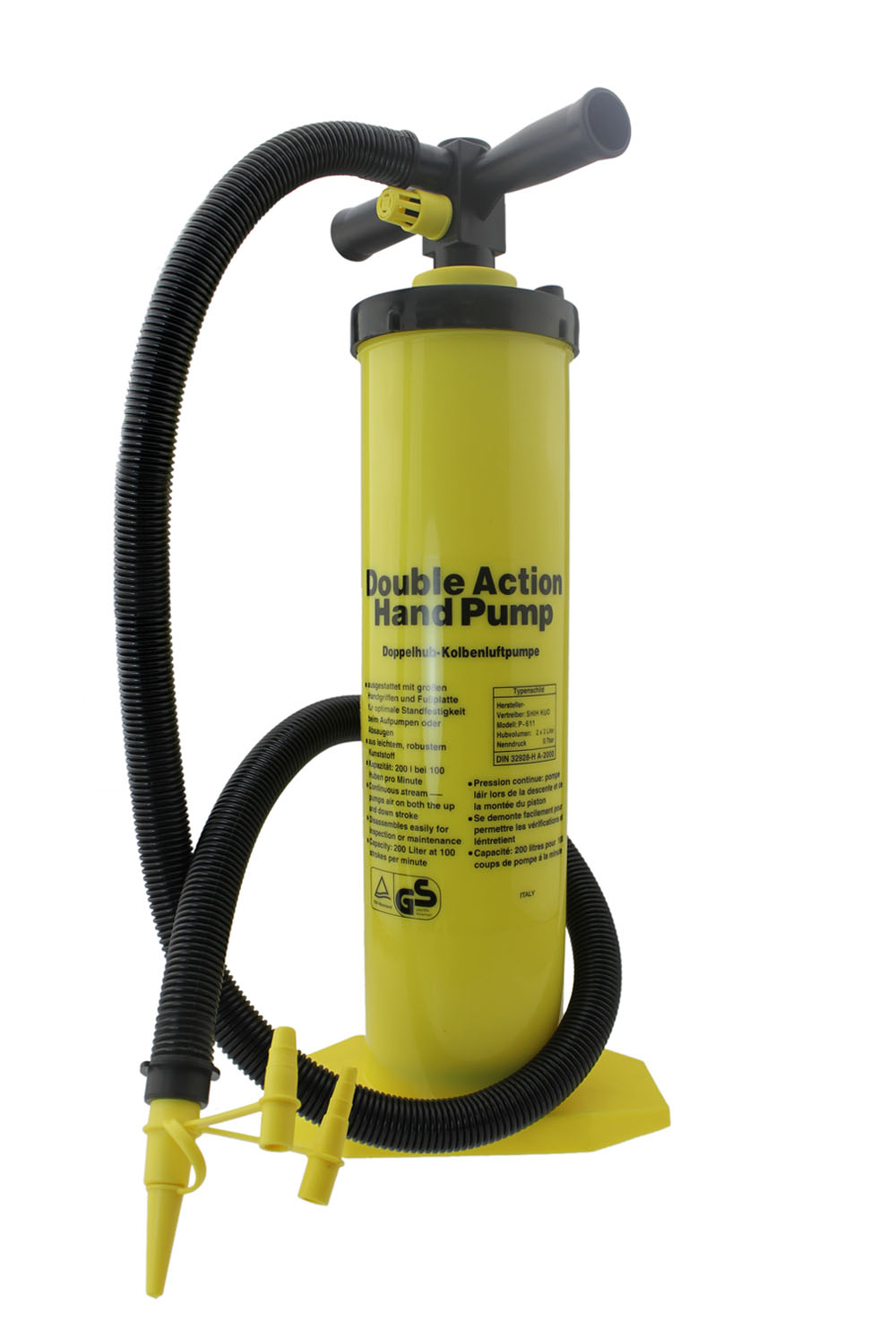 200 Liter Double Action Hand Air Pump Shih Kuo