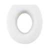 4.9 Inches Quick Install Assisting Elevated Raised Toilet Seat - Round Type A0136C