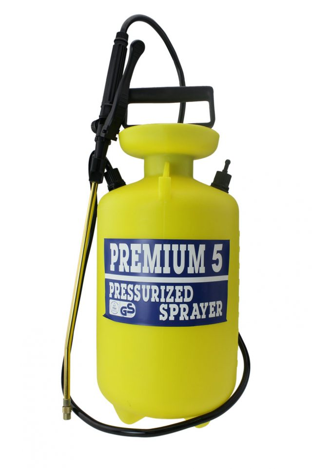5L Gardening Pressure Sprayer (Yellow) G-2317K
