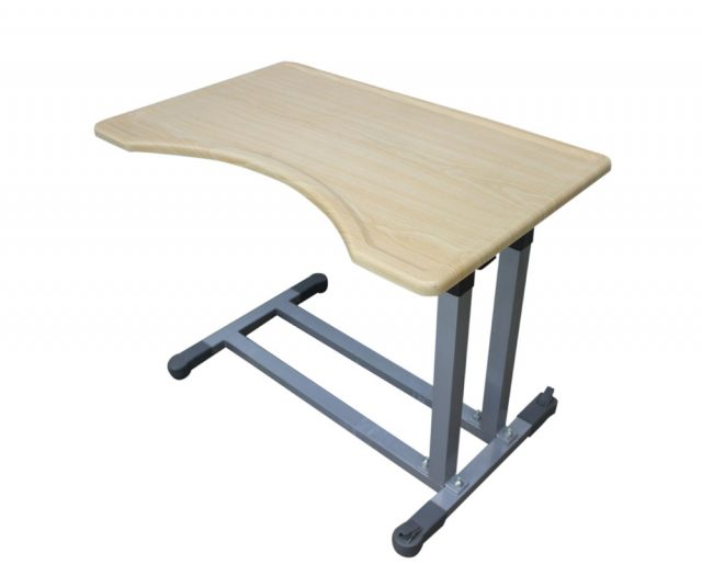 Adjustable Bedside Table (Double Column) Type A-0006M