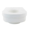 Elevated Toilet Seat-Round A-0137B Side