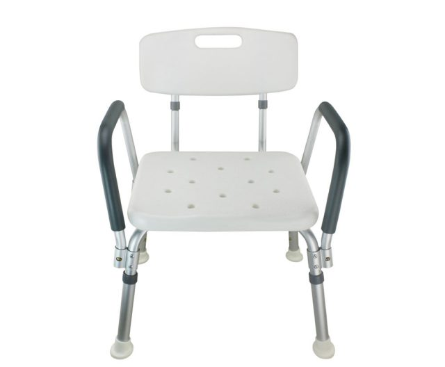 Legs Adjustable Bathroom Safety Shower Chair with Handle and Backrest A-0178A