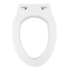 Removable Elevated Raised Toilet Seat - Elongated Type