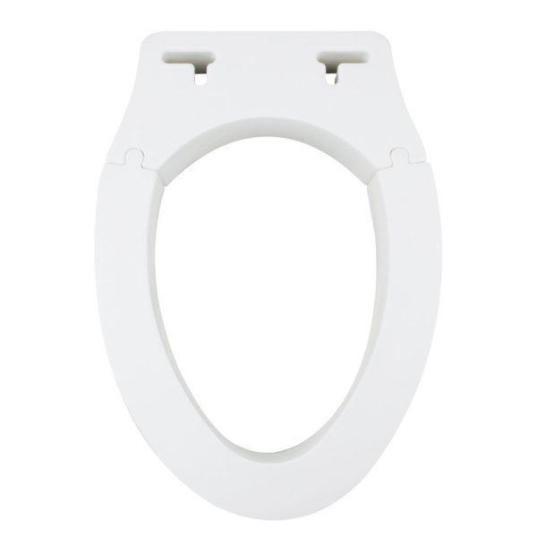 elongated raised toilet seat. removable elevated raised toilet seat \u2013 elongated type