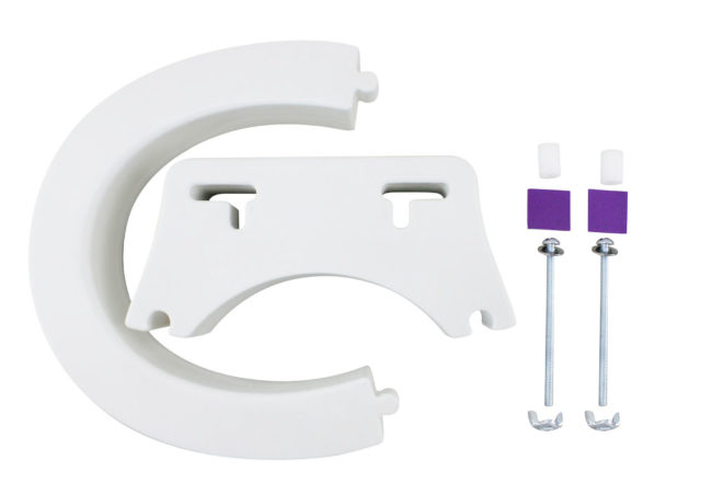 Removable Elevated Raised Toilet Seat - Round Type Scatter