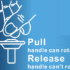 Rotating Bath Tub Safety Assisting Rail A-0151E Guide