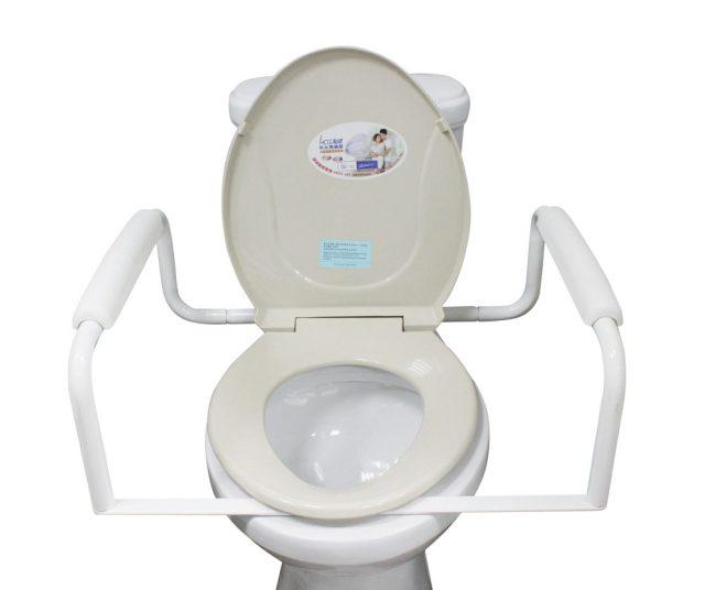 Toilet Safety Assisting Frame Rails