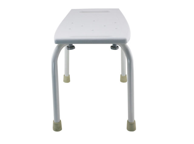 Tool-Free Bathroom Safety Shower Tub Bench Chair A-0144A Sides