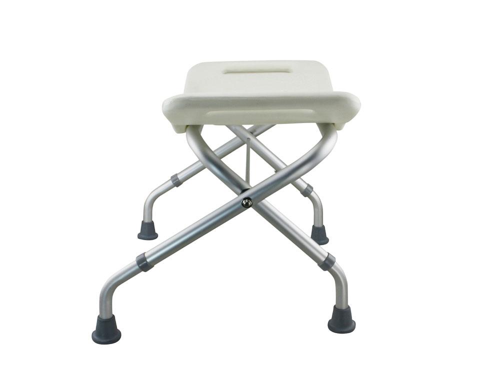 bathroom legs tool free foldable legs adjustable bathroom shower chair