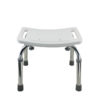 Tool-Free Legs Adjustable Bathroom Safety Shower Chair - Chrome Type A-0142A