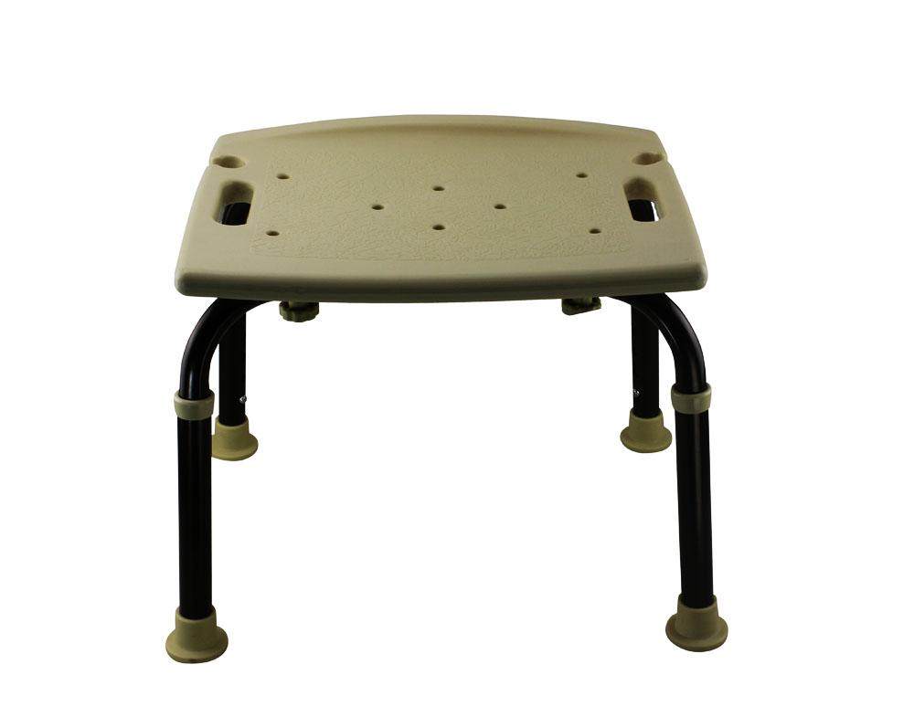Tool Free Legs Adjustable Bathroom Shower Chair Classic