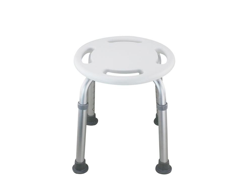 bathroom legs tool free legs adjustable bathroom round shower chair shih kuo