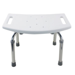 Tool-Free Legs Adjustable Bathroom Safety Shower Tub Bench Chair – Glossy Type A-0232B