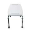 Tool-Free Legs Adjustable Bathroom Safety Shower Tub Bench Chair – Glossy Type A-0232B Side