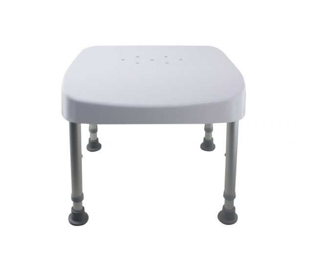 Tool Free Legs Adjustable DURA Shower Tub Chair A-0231A
